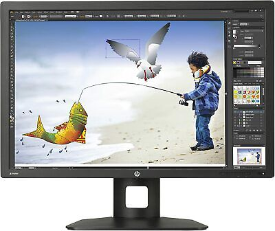 """HP Z Display Z30i 30"""" 2560x1600 IPS LED Backlit Monitor D7P94A- Read"""