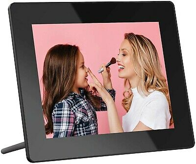 Touch WiFi Digital Photo Frame, 8 Inch IPS Touch Screen HD Display, 16GB Storage
