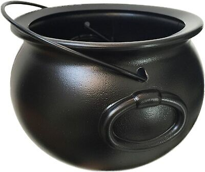 """8"""" Black Cauldron kettle Halloween Witch Candy, Party Supplies Decorations"""