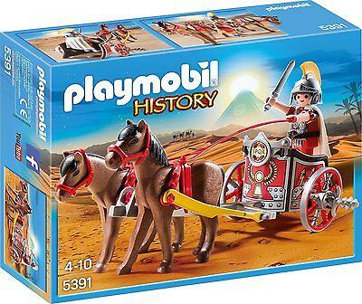 PLAYMOBIL History Edition Römer-Streitwagen Spielzeugfigur Kinder Spielzeug