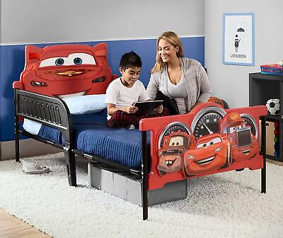 Cars Lightning Mcqueen Childrens Bed Kids Bedroom Furniture Twin Size Race Car Lightning Mcqueen Furniture
