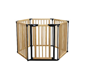Bily Superyard - Infant Wooden Gate PLUS extension *UNOPENED*