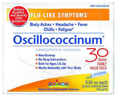 Boiron Oscillococcinum For Flu Like Symptoms 30 Ea
