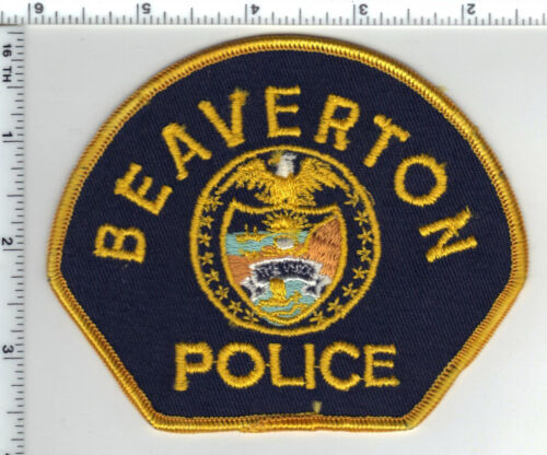 Beaverton Police (Oregon) Shoulder Patch - new from the 1980