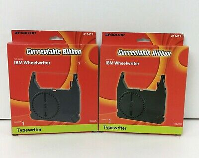 2 Porelon 11413 For Ibm Wheelwriter 3 5 6 10 20 50 Correctable Ribbon Nib