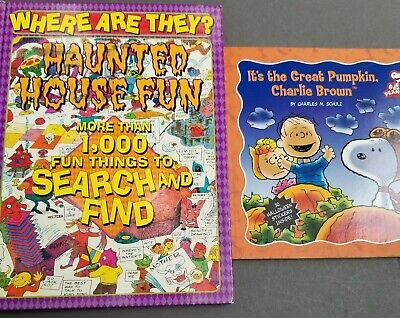 Halloween Search And Find (Great Pumpkin Charlie Brown Book + Halloween Search and Find)