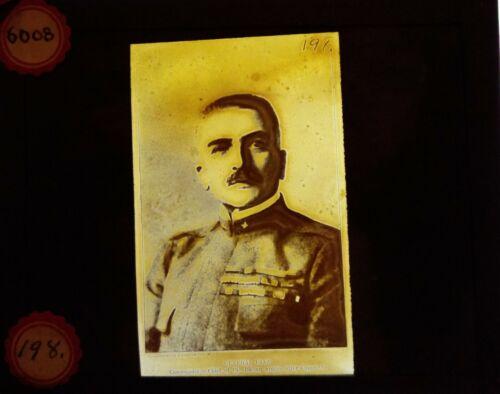 General Armando Diaz Chief of general Staff Italy Glass Slides Plates 1900