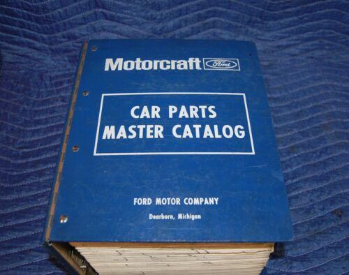 1973-1979 FORD Dealer Master Parts & Accessories Illustrations Catalog