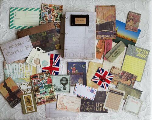 Handmade Vintage Travel Hard Cover Nature Junk Journal