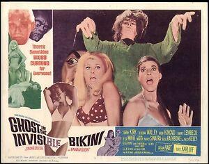 GHOST-IN-THE-INVISIBLE-BIKINI-1966-Orig-11X14-Lobby-Card-6-BORIS-KARLOFF