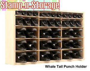 Whale-Tail Paper Punch Holder & Storage