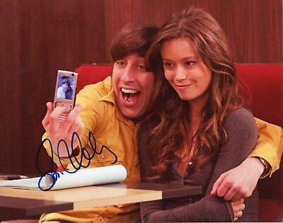 Simon Helberg Authentic Hand Signed  Howard The Big Bang Theory  8X10 Photo