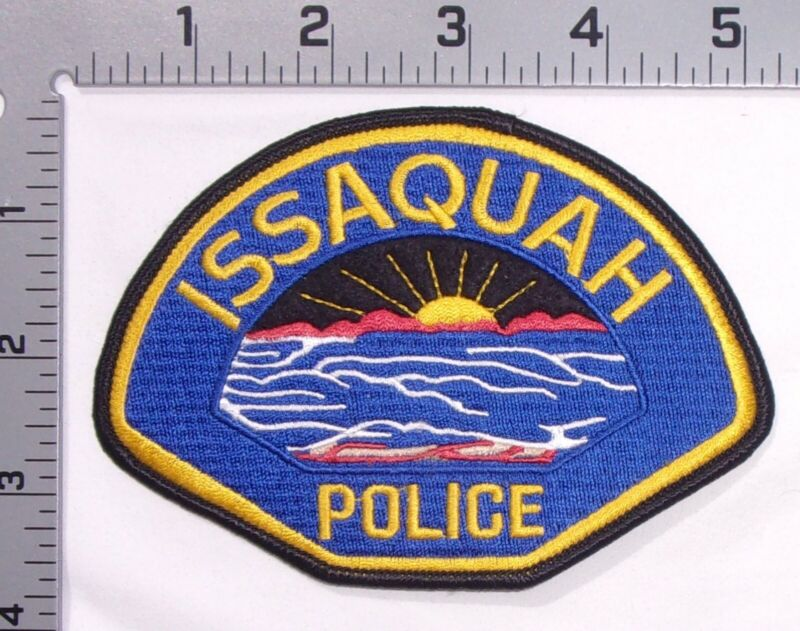 Issaquah Washington Police Department Shoulder Patch