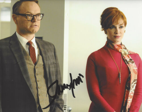 ACTOR JARED HARRIS SIGNED 'MAD MEN' LANE PRYCE 8X10 PHOTO COA CHERNOBYL PROOF