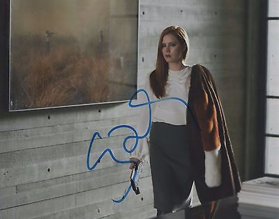 Amy Adams Nocturnal Animals Hand Signed 8X10 Photo Autographed W Coa Aa Look