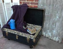 INDUSTRIAL ANTIQUE TRUNK COFFEE TABLE Inglewood Stirling Area Preview