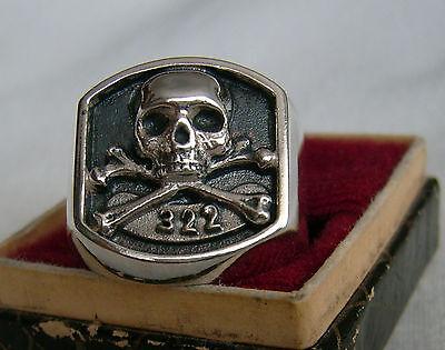 322 SKULL AND BONES YALE SECRET SOCIETY  925 RING](Bones And Skulls)