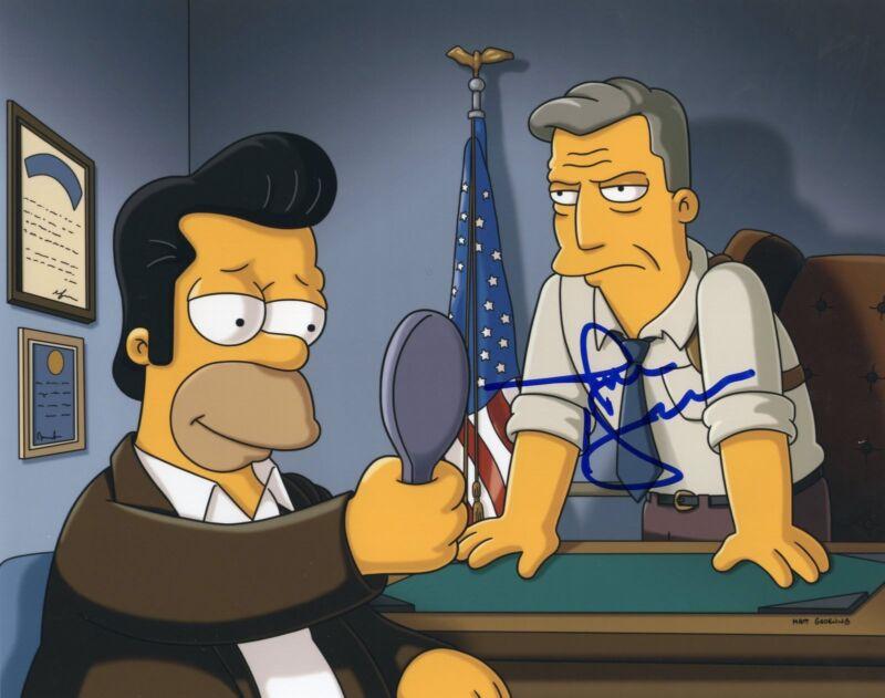 Jon Hamm signed 8x10 Photograph w/COA The Town The Simpsons
