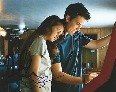 Footloose Movie  Miles Teller   Shailene Woodley  Signed 8X10 Photo Mh1 Coa
