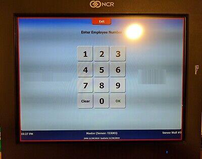Ncr 7743 Pos Terminal Ncr P1230 12 Lcd With Msrcredit Card Swipe