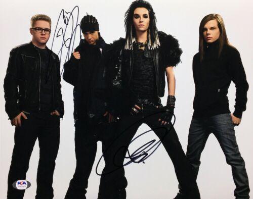 Bill Kaulitz & Tom Kaulitz Signed 11x14 Photo *Tokio Hotel PSA AH75918