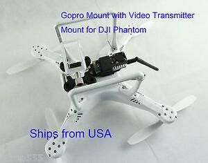 GoPro-Anti-Vibration-Mount-with-Video-Transmitter-Mount-for-DJI-Phantom-FPV