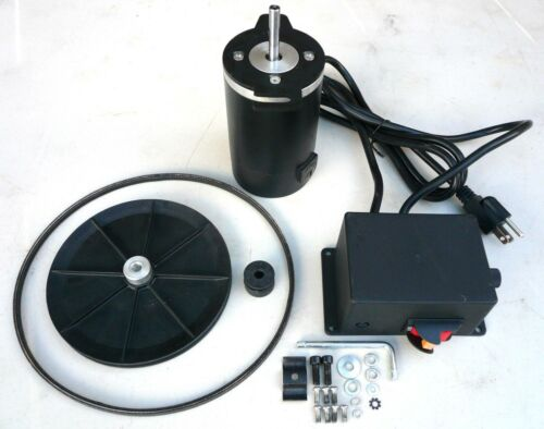 1/2 HP Variable Speed Drive Kit with Motor, Control, Pulleys, & Belt 250-900 RPM