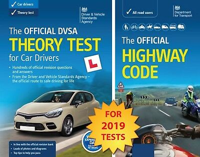 Driving Theory Test Car Drivers Book for 2019 & Latest Highway Code