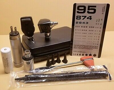 Welch Allyn Diagnostic Set With Otoscope And Ophthalmoscope Much More