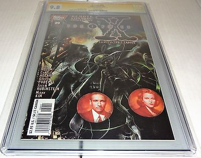 X-Files #29 CGC SS 9.8 Signature Autograph DAVID DUCHOVNY Signed Topps Comics 🔥