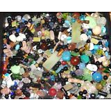 Wholesale Lot  New Fancy Assorted Mixed Jewelry Supplies,Beads,  Etc..1/3 pound
