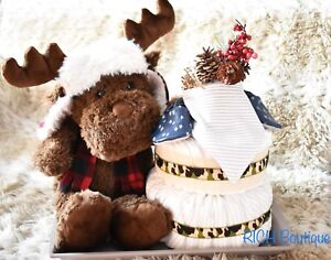 Baby Diaper Cakes made by local business