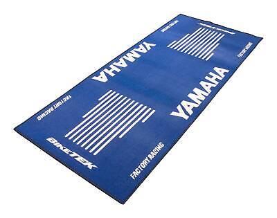 <em>YAMAHA</em> YZF R1 1000 M BIKETEK BLUE WHITE WORKSHOP GARAGE MAT CHRISTMAS