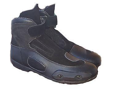 stivali stivaletti scarpe in pelle e goretex da moto torung 40-41-42-43-44-45