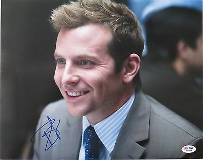 Bradley Cooper Signed Authentic Autographed 11X14 Photo  Psa Dna   I31564