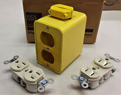 Appleton Re-ppb Power Outlet Box