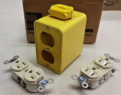 Appleton Re-ppb Power Outlet Box