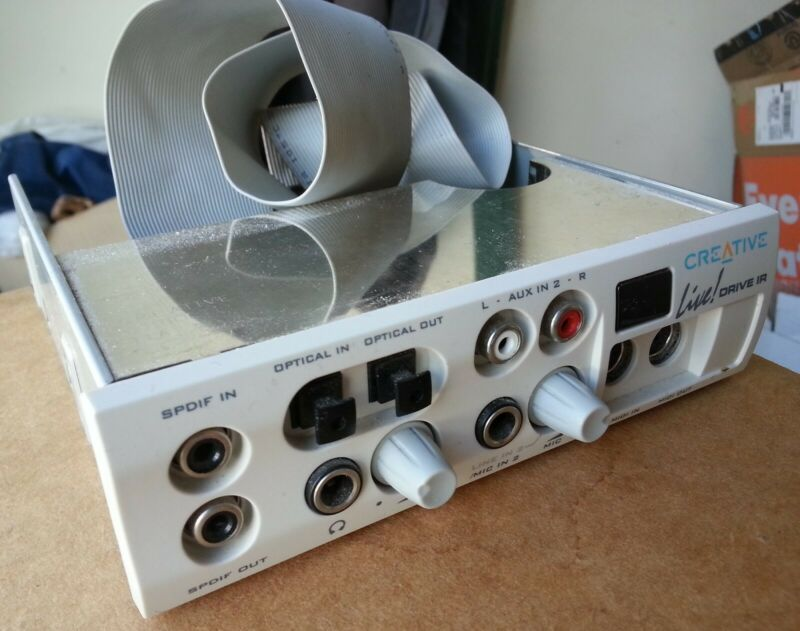 CREATIVE LABS Live! Drive IR SB0010 PCI Sound Card - Front Control Panel MIDI