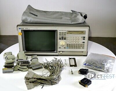 Agilent Hp 1662a Portable Logic Analyzer 68 Channels W Accessories Ref434