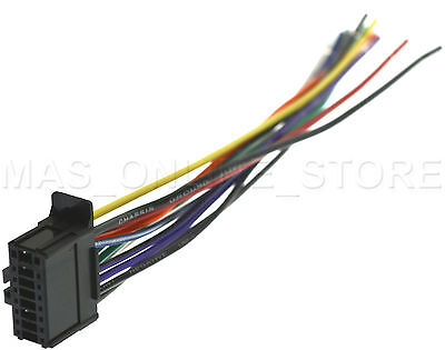 WIRE HARNESS FOR PIONEER DEH-X6700BT DEHX6700BT *PAY TODAY ... on