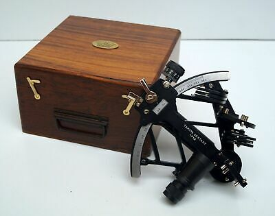 Tamaya Nautical Sextant 1712 Fully Working 9 inch Navigation Antique sextant Box
