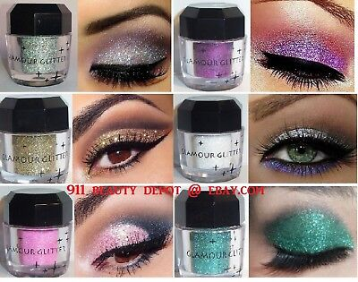 Diamond Eyeshadow Palette Loose Pigment Waterproof Shimmer Glitter Powder Makeup
