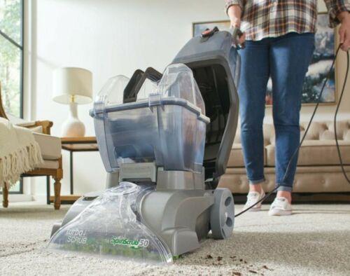 Hoover Professional Turbo Scrub Upright Carpet Cleaner Machine Upright New Best