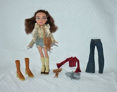 "Bratz Girlz Yasmin The Style It Fashion Collection 10"" Doll Complete Set"