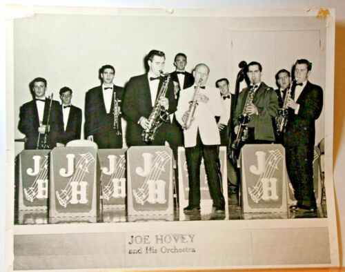Joe Hovey & Orchestra Jazz band in th 50