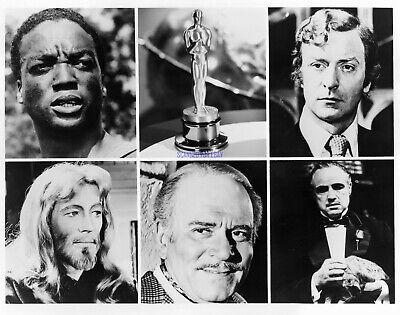 ORIGINAL 1972 OSCARS BEST ACTOR NOMINEES PHOTO MARLON BRANDO THE