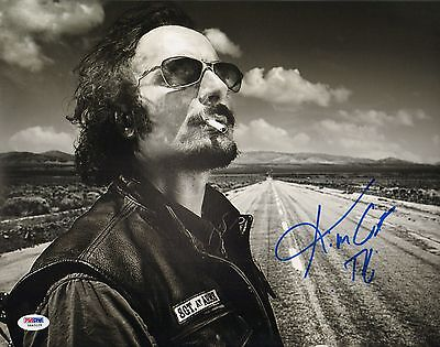 Kim Coates Tig Signed Sons Of Anarchy 11X14 Photo Psa Dna Coa Autograph Picture