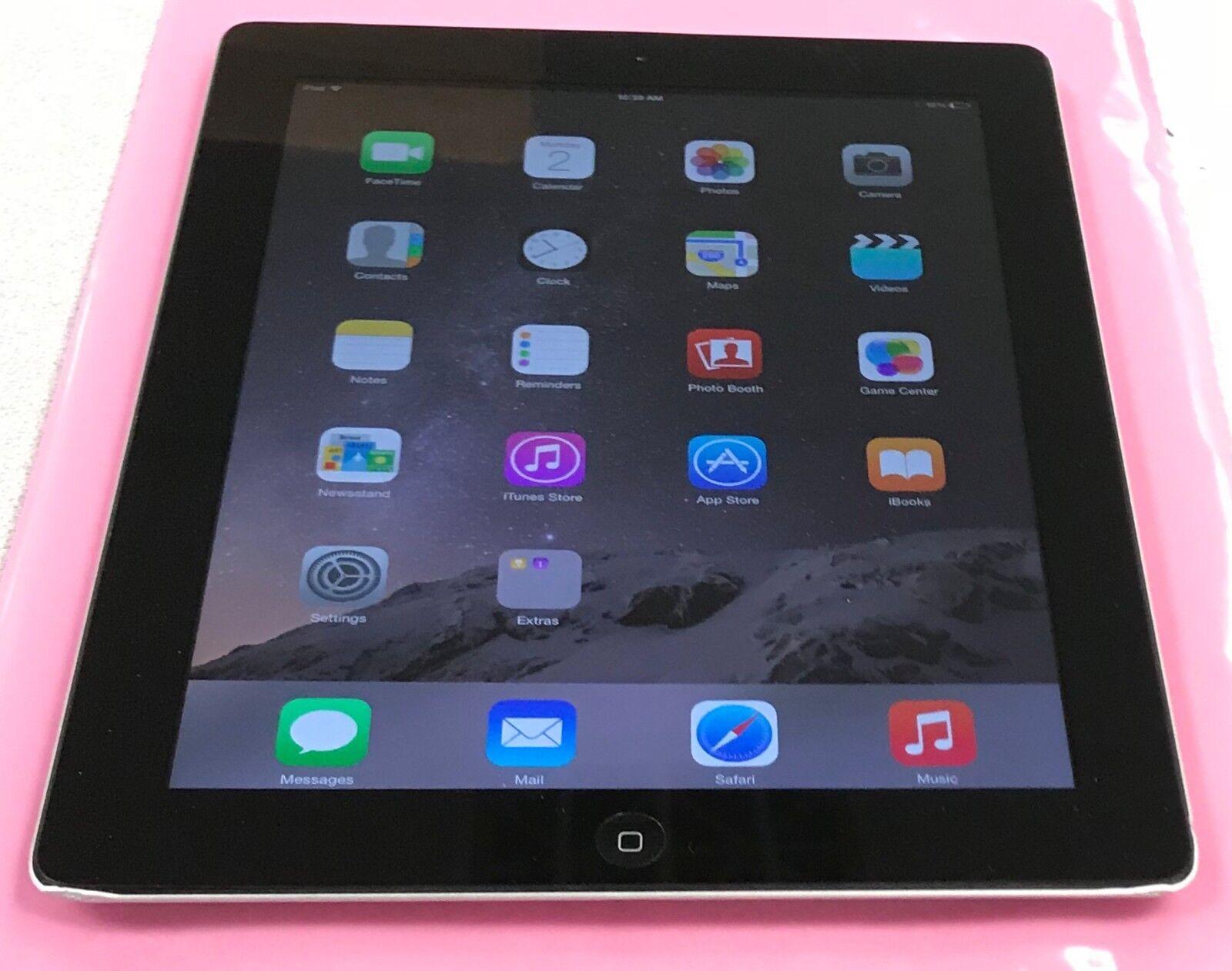 """Apple iPad 4th Gen. A1458 - 9.7"""" Retina Display 32GB - Black Wi-Fi Grade A, B, C"""