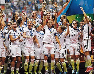 US Women's Soccer 8x10 Photo Us Womens Soccer 8x10 Photo