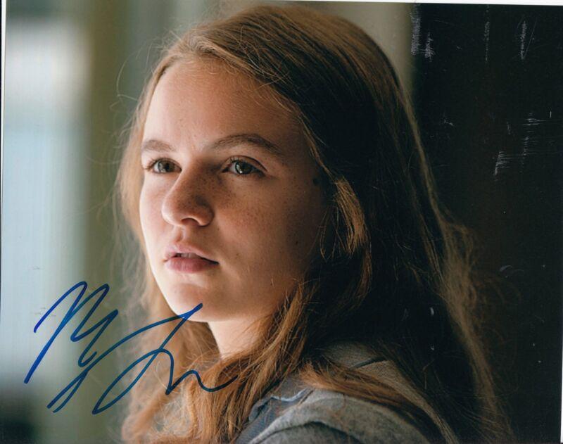 MORGAN SAYLOR signed *HOMELAND* TV STAR 8X10 photo W/COA DANA BRODY #3